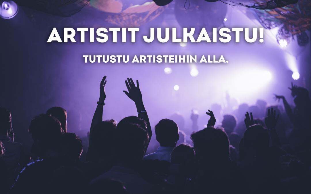 PIKKULASKIAISEN 2020 ARTISTIT JULKAISTU!